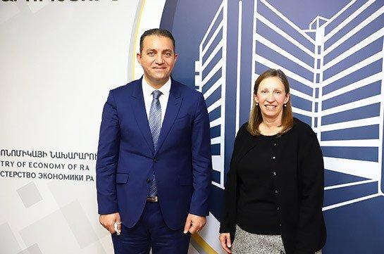 Հայաստանը շատ գրավչություններ ունի թե՛ ներդրումների, թե՛ զբոսաշրջության զարգացման համար. Քերոբյանն ընդունել է ԱՄՆ դեսպանին